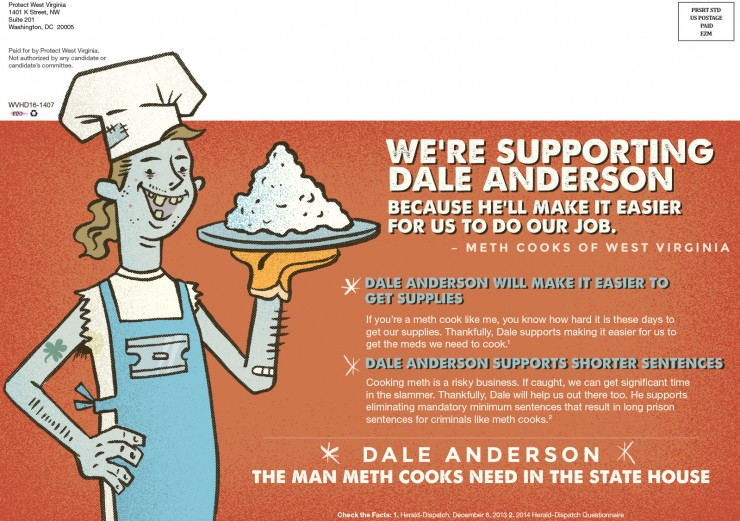 Campaign Against Dale Anderson 2014