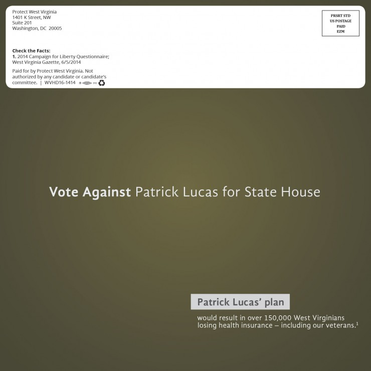 Campaign Against Patrick Lucas 2014