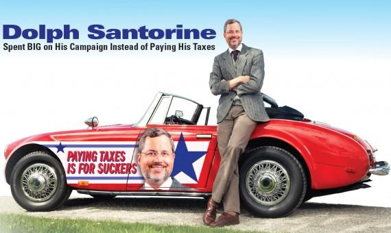 Campaign Against Dolph Santorine 2014